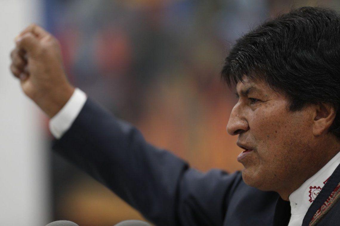 Elecciones en Bolivia: Evo Morales se declaró ganador en primera vuelta