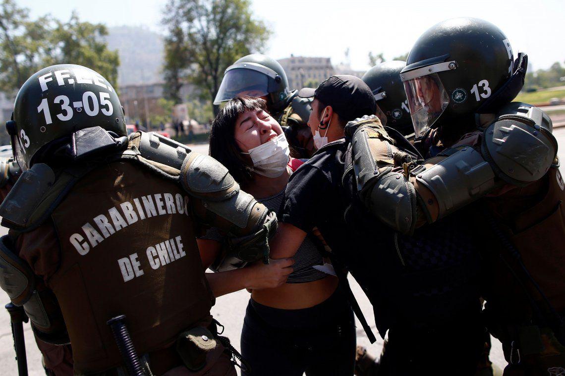 Chile: la ONU señalo a Carabineros como responsables de la mayoría de los abusos en protestas