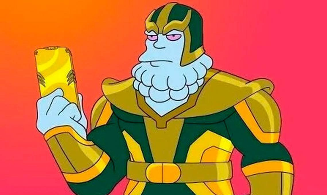 Los Simpson incluirán a Thanos en una inminente parodia a Avengers: Endgame