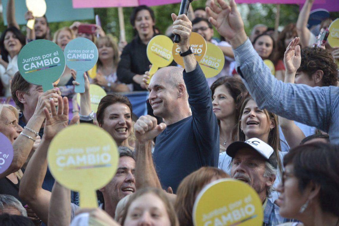 Elecciones 2019 | Horacio Rodríguez Larreta cerró la campaña en la Ciudad: Yo estoy convencido de que vamos a hacer la mejor elección de la historia