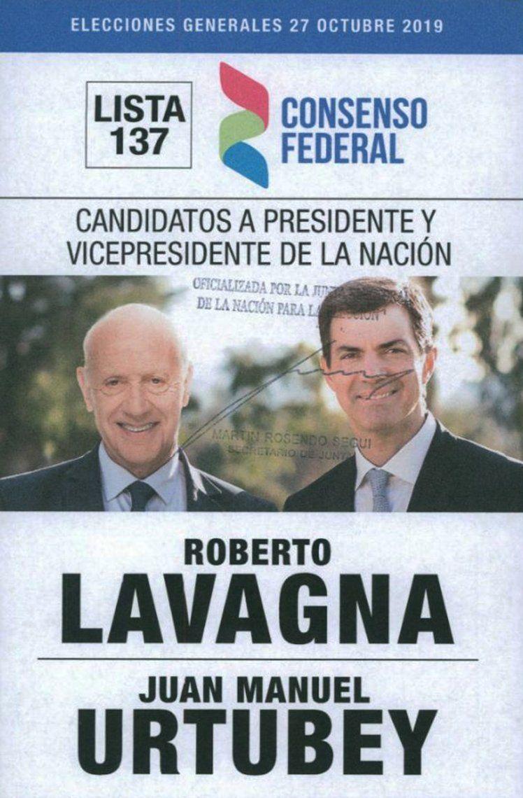 Elecciones 2019 | Estas son las boletas para votar el 27 de octubre