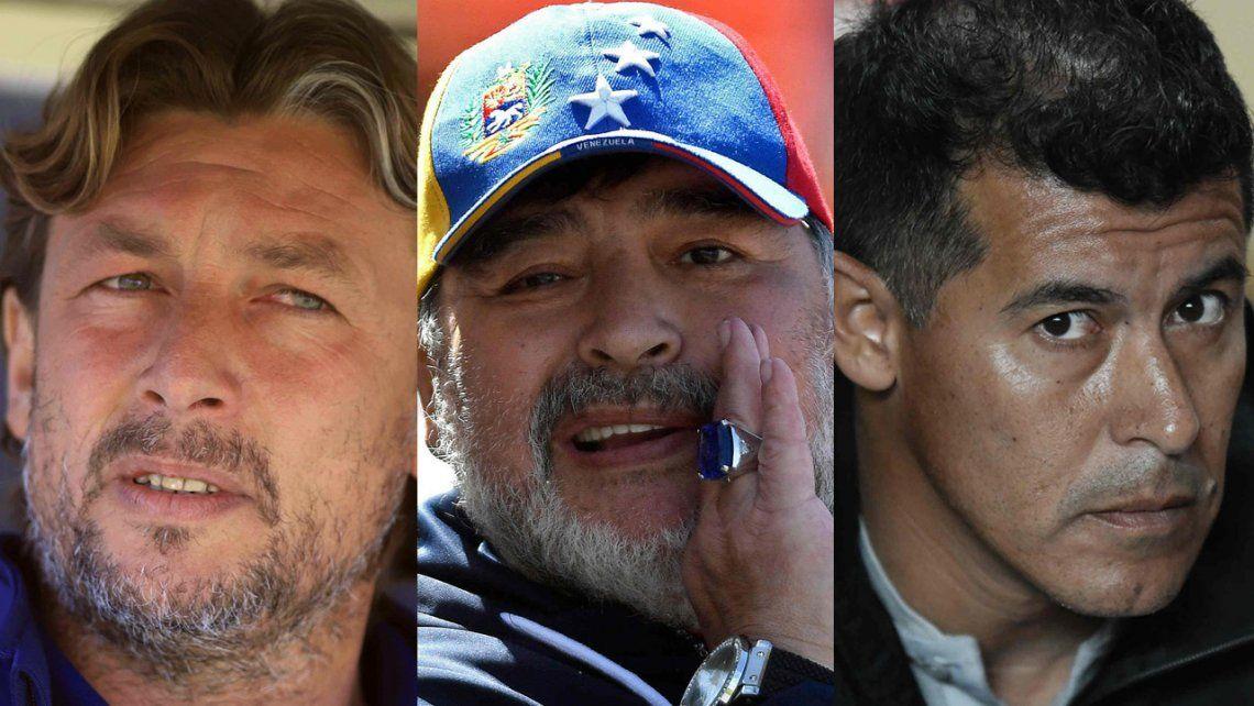 Con Alfaro afuera en diciembre, ¿Maradona, Heinze, Almirón o Gareca para Boca?