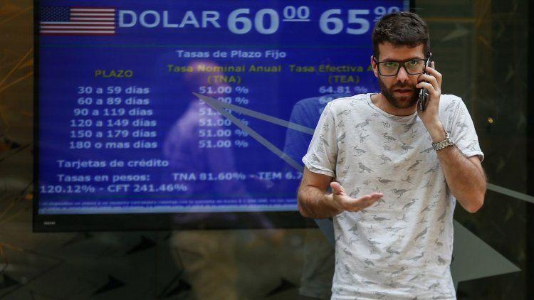 El dólar blue se vendió en $79