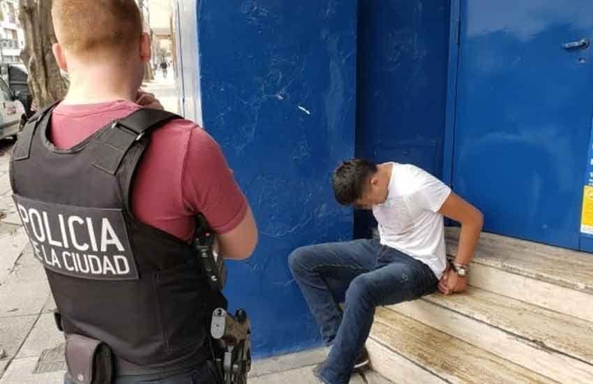 Un motochorro colombiano fue condenado a siete años de cárcel