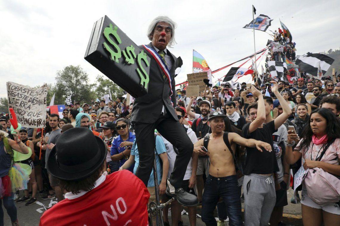 Galería | La marcha histórica en Santiago en fotos