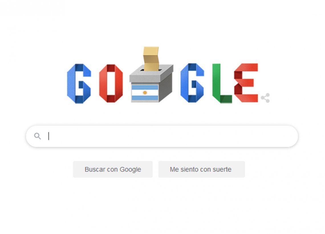 Elecciones 2019 | El doodle que le dedicó Google a los comicios