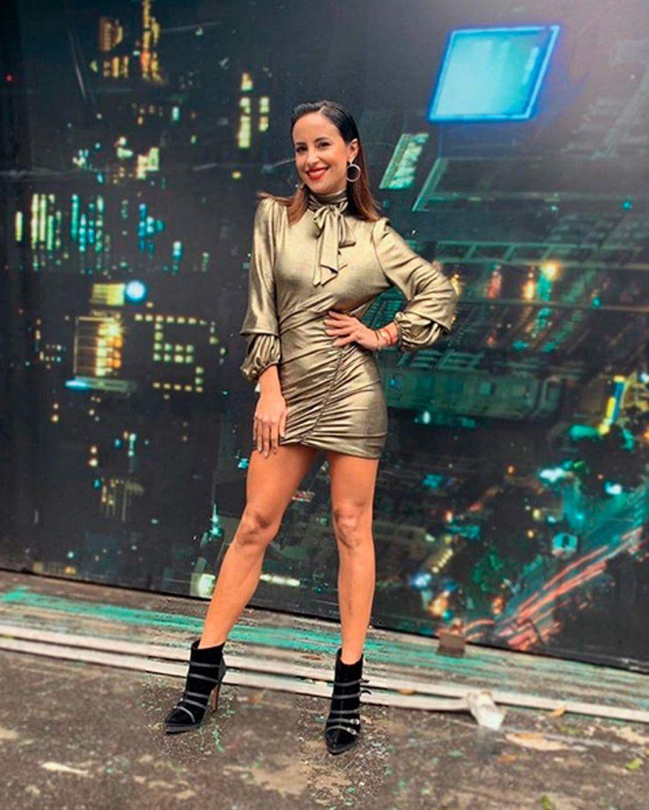 Nada de jercicio ni de baile para Lourdes Sánchez
