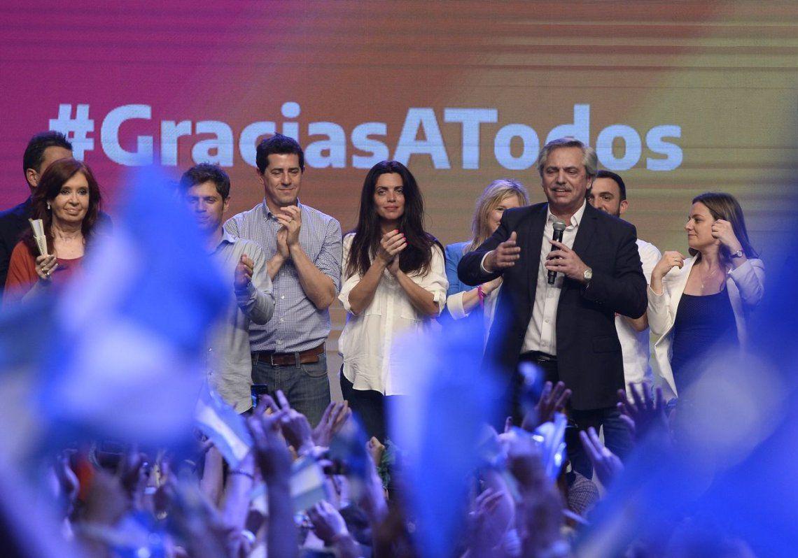 Elecciones 2019 | Alberto Fernández: El gobierno volvió a manos de la gente