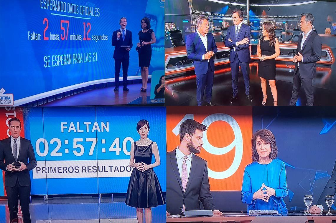 Elecciones 2019: así se vivió la histórica elección por los canales de TV