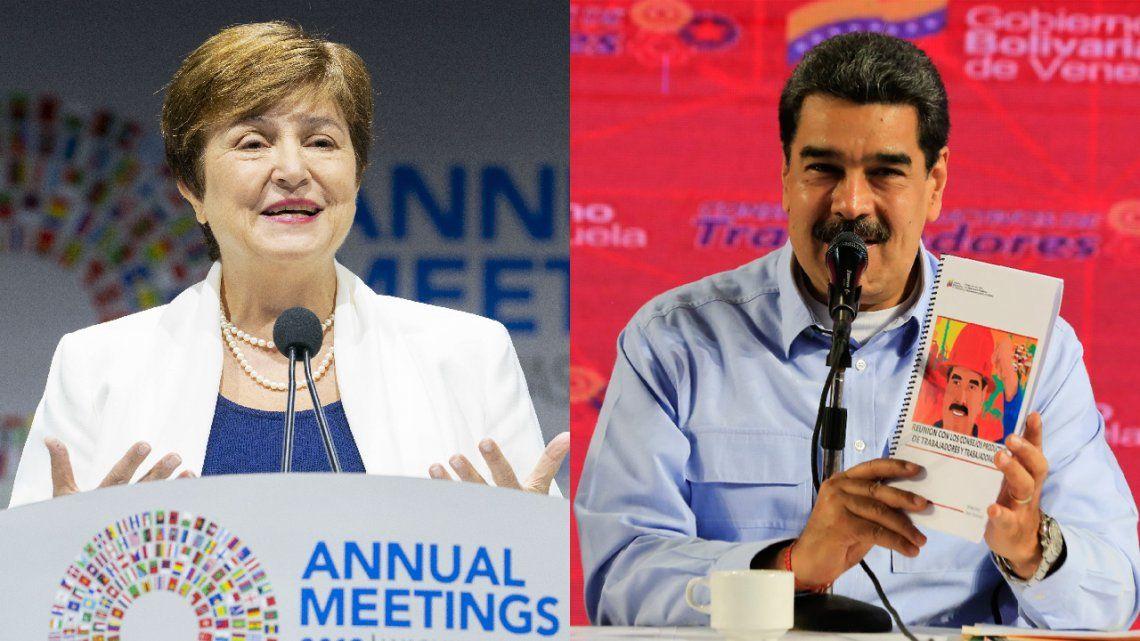 De Nicolás Maduro a la directora del FMI, los saludos a Alberto Fernández