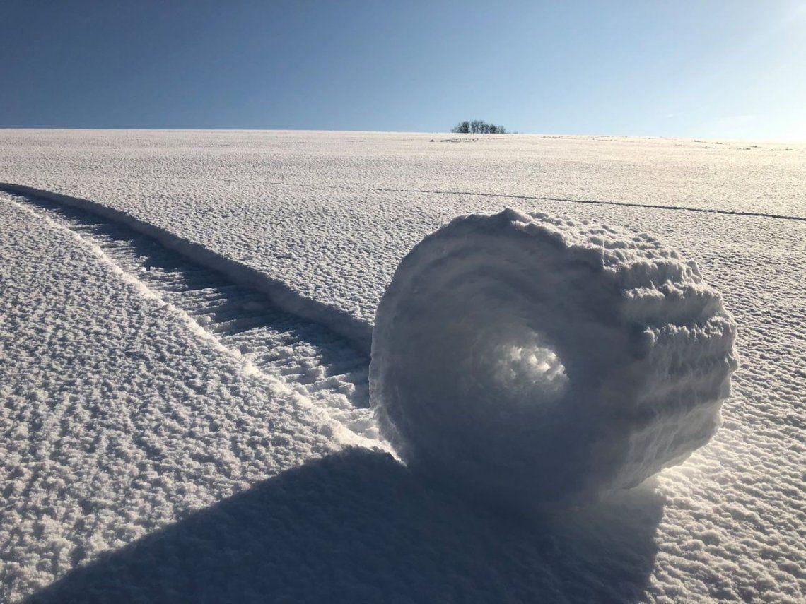 Rodillos de nieve en Wiltshire