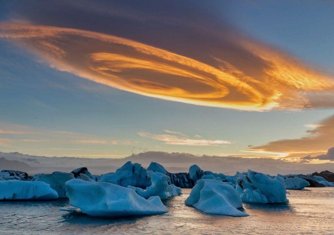 Rollos de canela en la nube