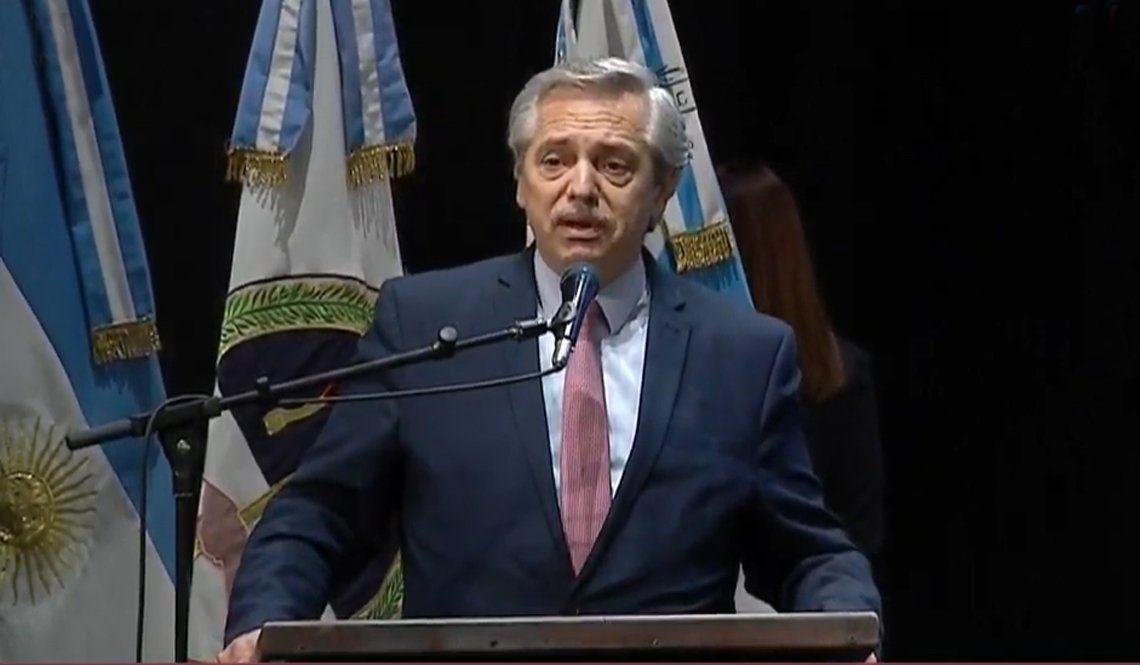Alberto Fernández en Tucumán: El futuro empezó el domingo