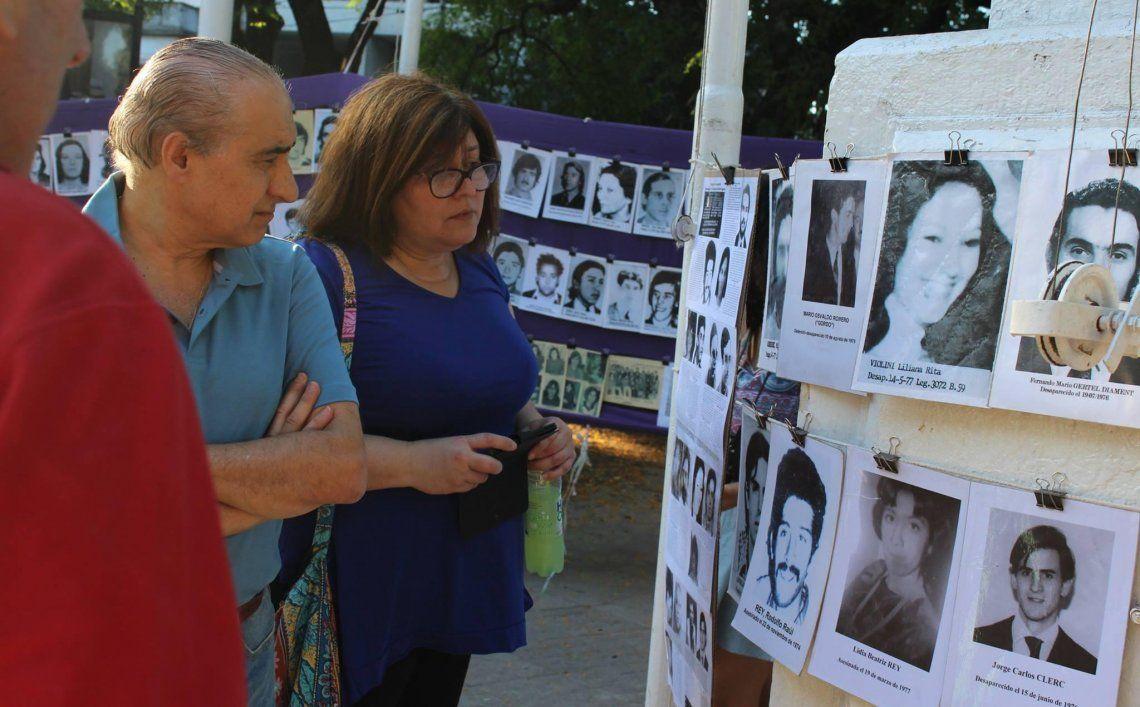 La campaña se inscribió en el marco del trabajo que viene realizando Abuelas de Plaza de Mayo.