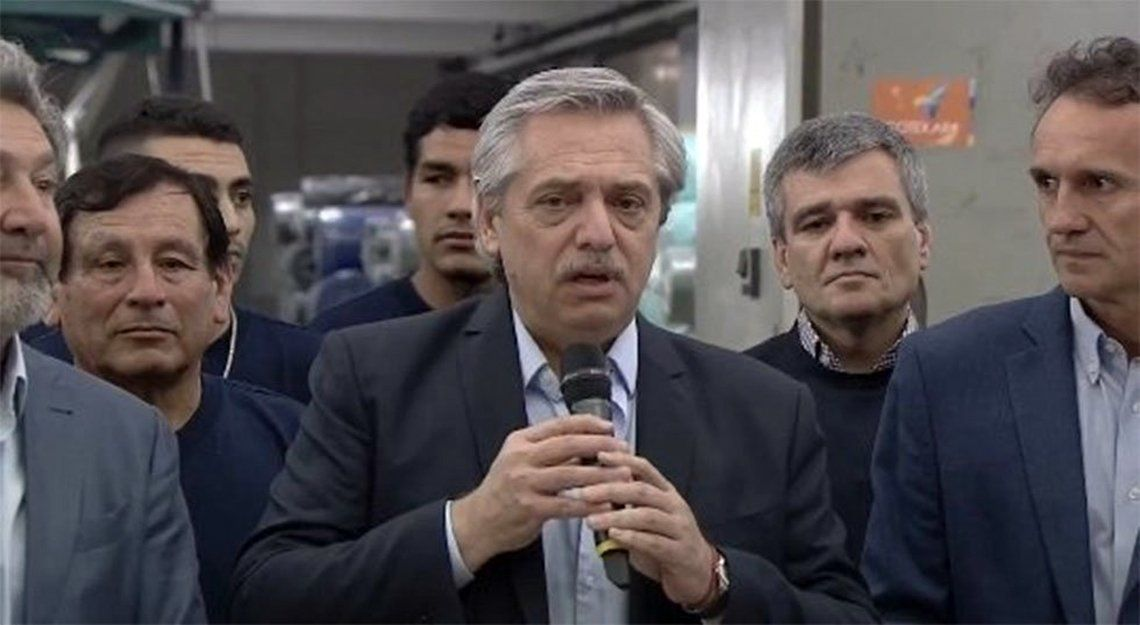 Alberto Fernández se reunió con industriales: Vamos a hacer que en la Argentina se produzca y que la gente encuentre trabajo