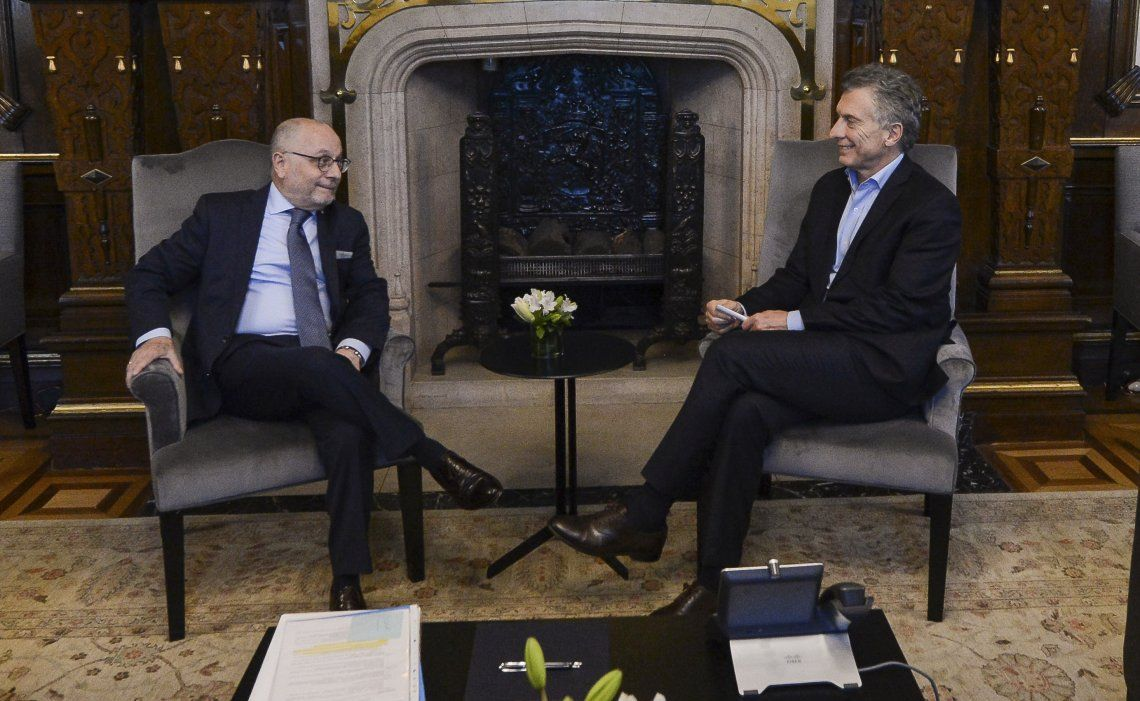 El canciller Faurie se reunió ayer con el presidente Macri y