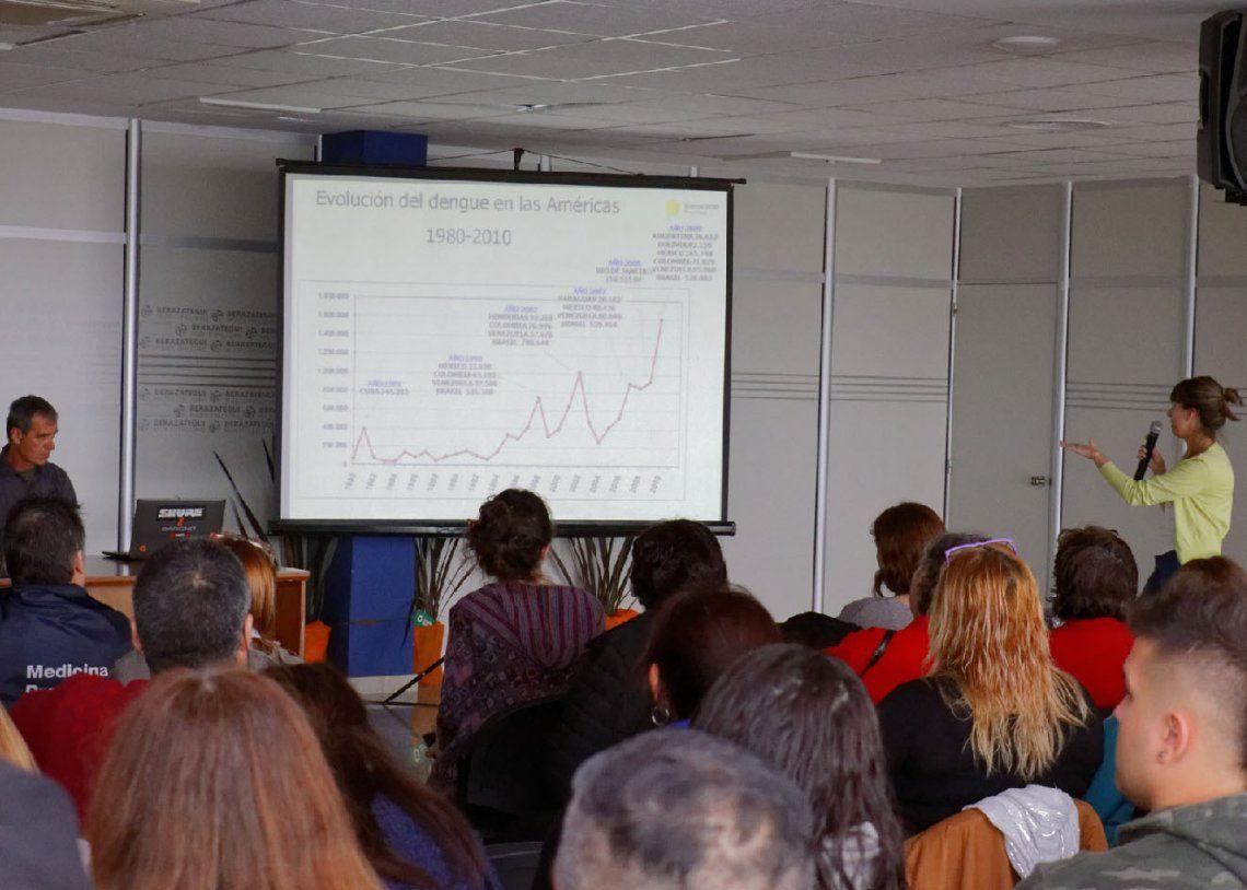 Berazategui: capacitación para prevenir el dengue