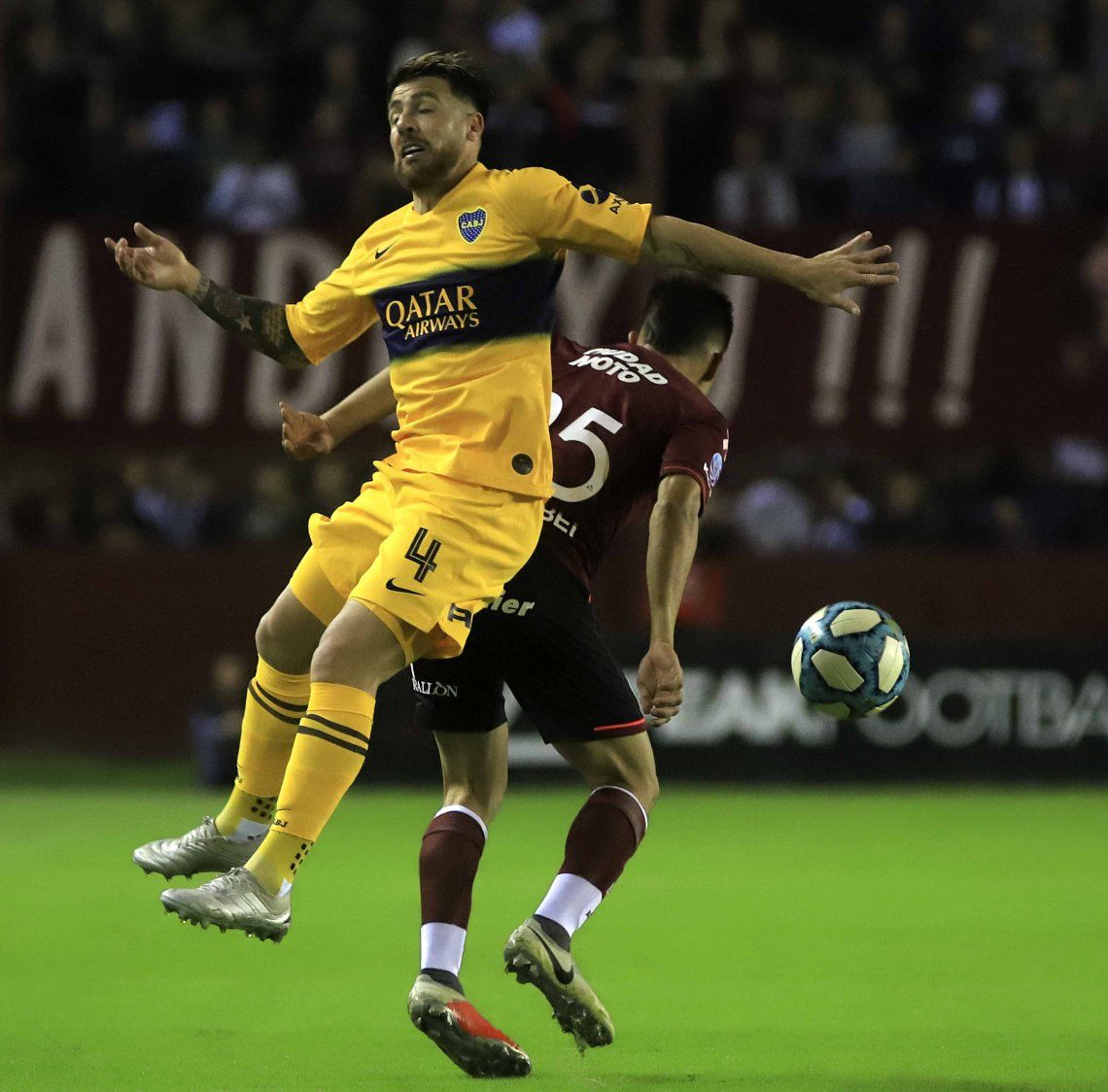 Lanús-Boca por la Superliga: las mejores fotos del encuentro en La Fortaleza
