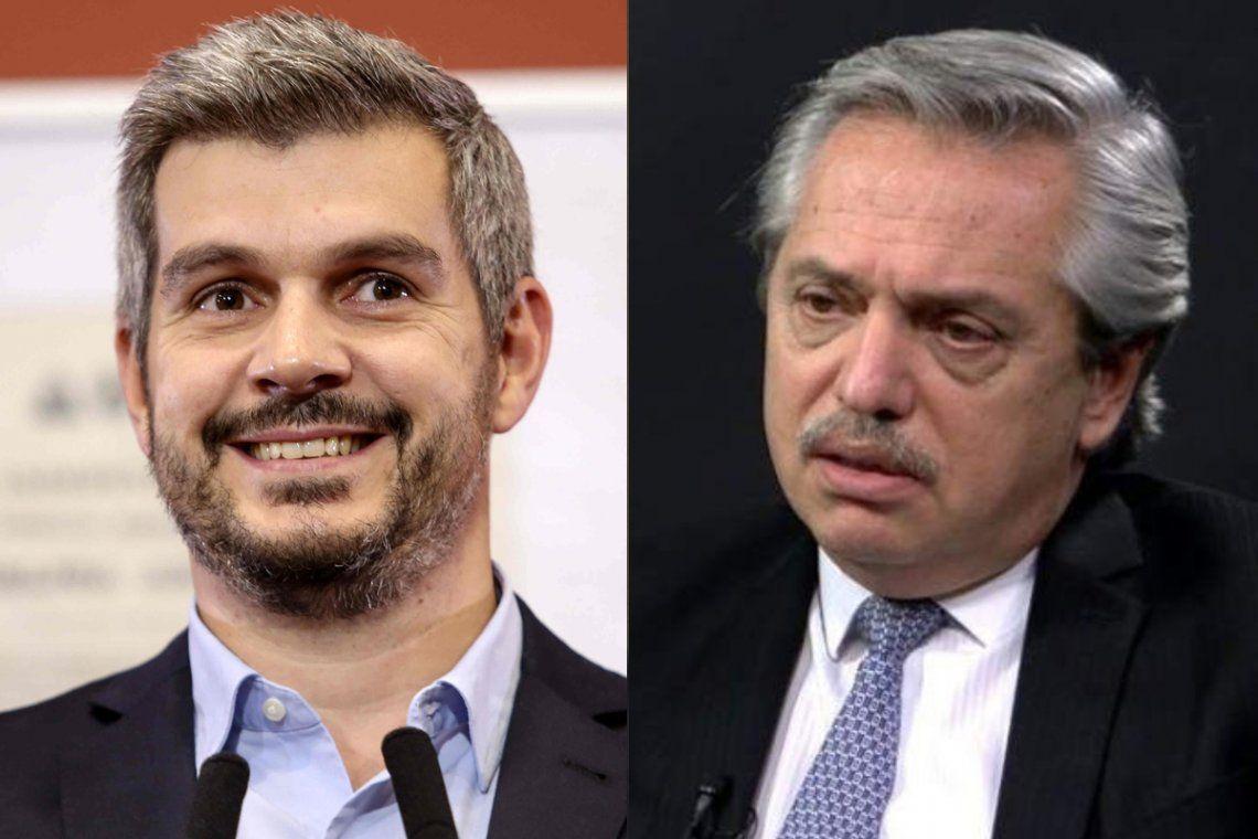 Alberto Fernández acusó a Marcos Peña de instalar noticias falsas