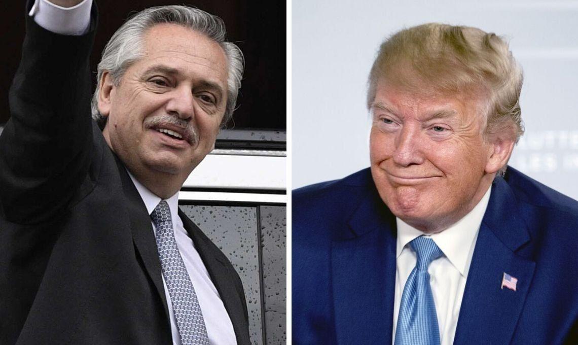 Donald Trump llamó a Alberto Fernández para felicitarlo por ser electo presidente: Usted va a hacer un trabajo fantástico
