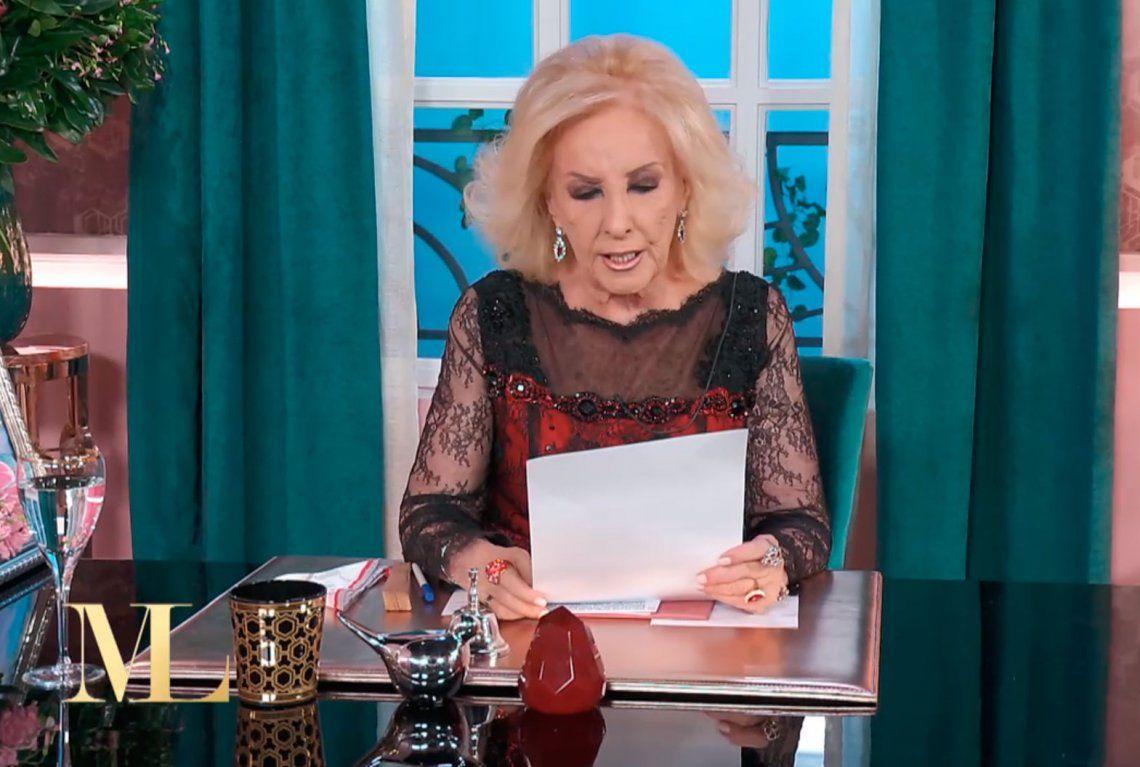 Millonario reclamo del Sindicato de Choferes a Mirtha Legrand