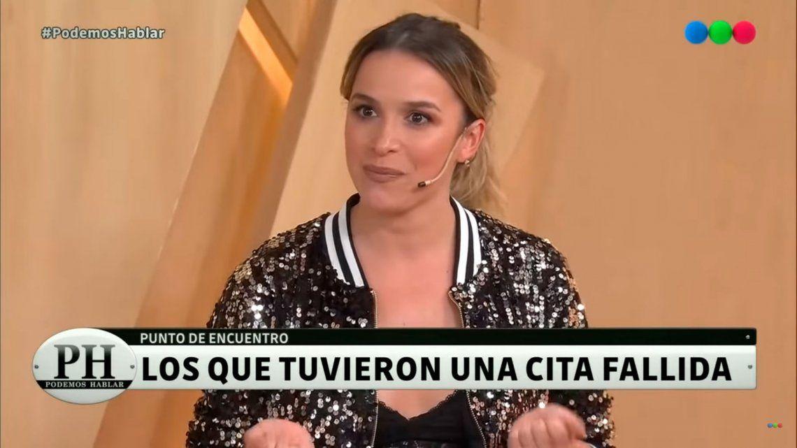 Por descompostura: la fallida cita que tuvo Sofía Pachano