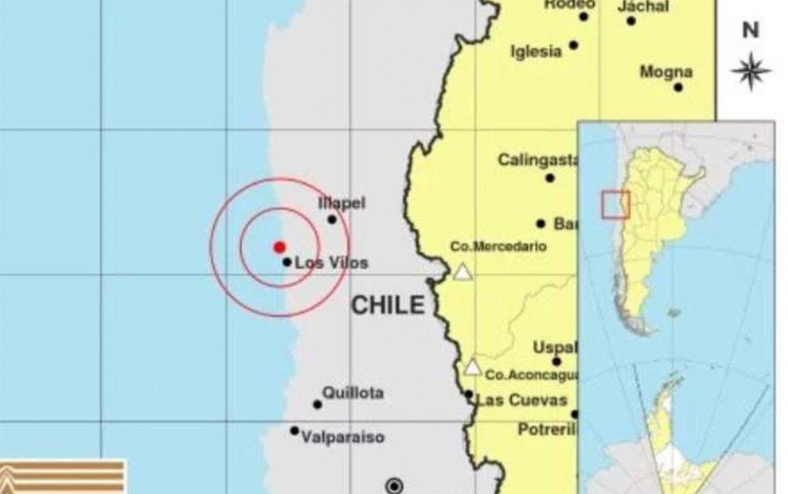 Fuerte sismo en Chile se sintió en Mendoza y San Juan