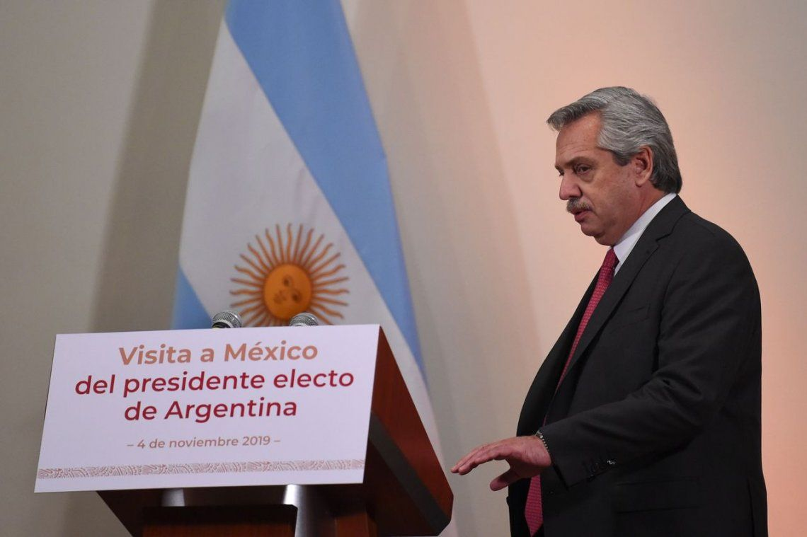 Alberto Fernández:Mauricio Macri deja la Argentina sin reservas