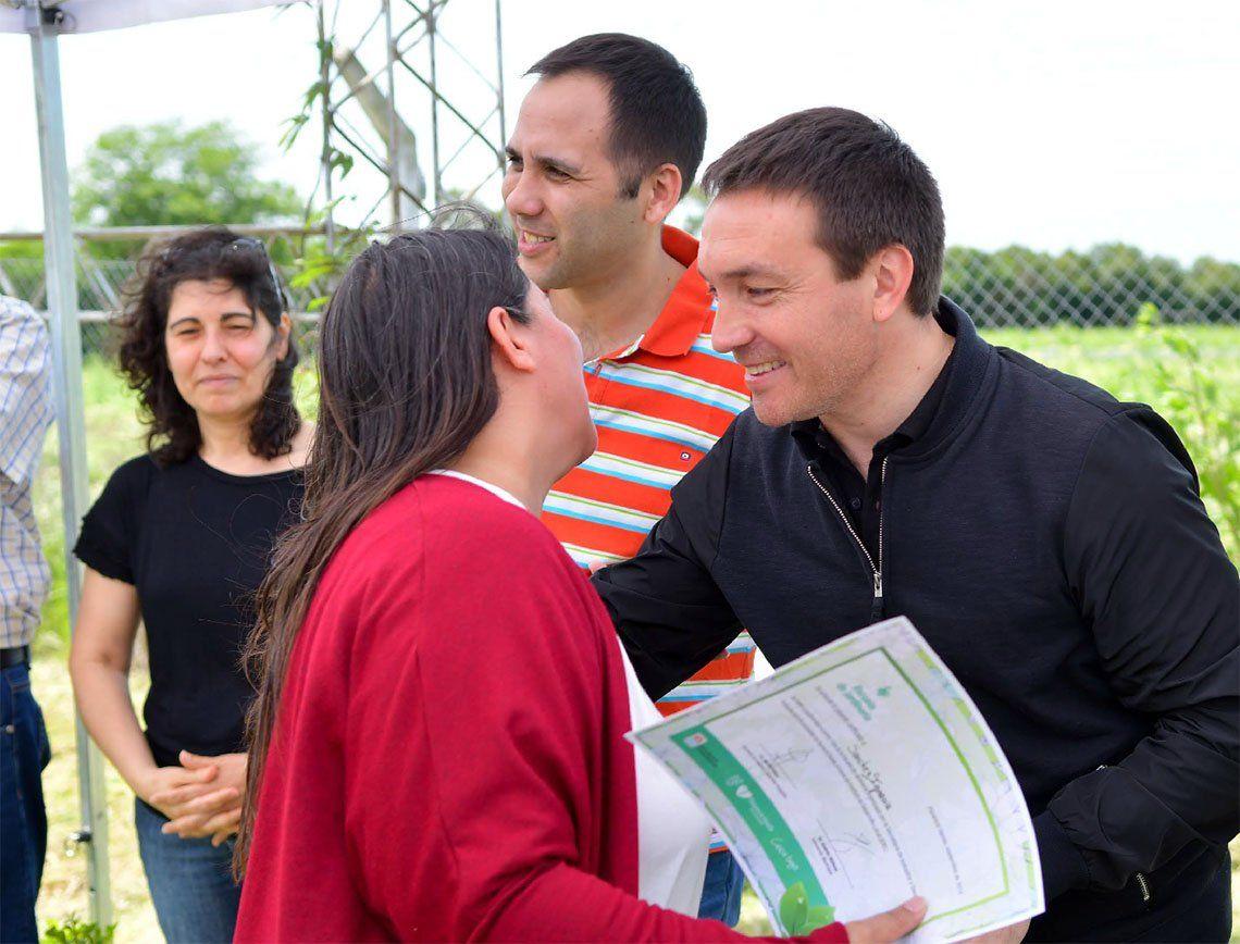 Florencio Varela: los primeros egresados de la Escuela Municipal de Jardinería