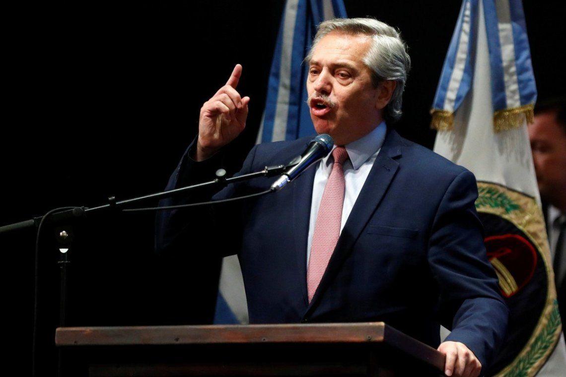 Alberto Fernández criticó el informe del gobierno sobre la herencia económica: Paren con la mentira