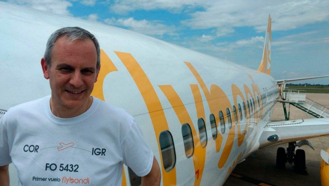 Flybondi le pidió la renuncia al empresario que dijo que el peronismo es un cáncer