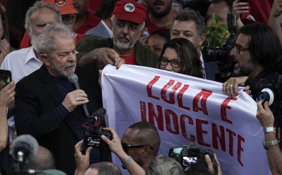Lula libre: Han intentado criminalizar a la izquierda