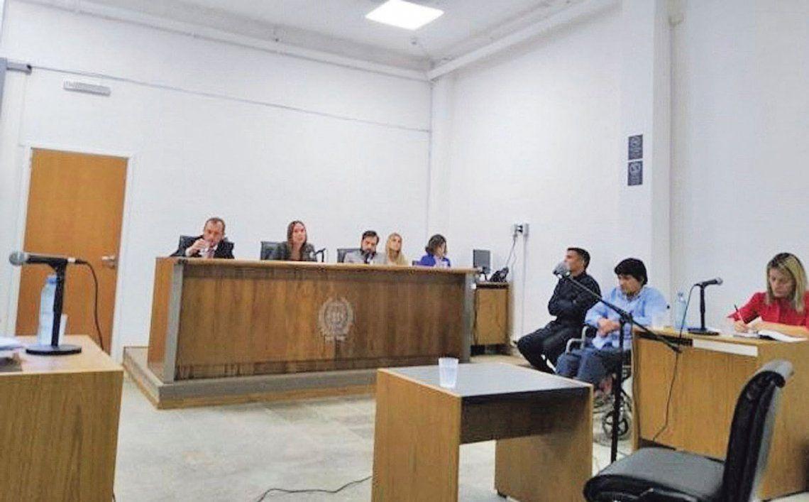 Los jueces ordenaron que el sujeto quede detenido tras el juicio por peligro de fuga.