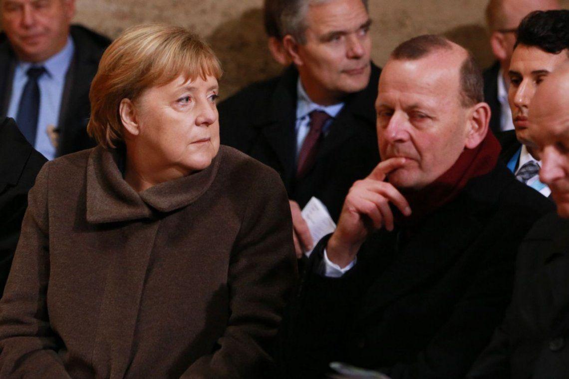 La caída del muro de Berlín: Angela Merkel y Frank Steinmeier encabezaron un acto a 30 años de la demolición