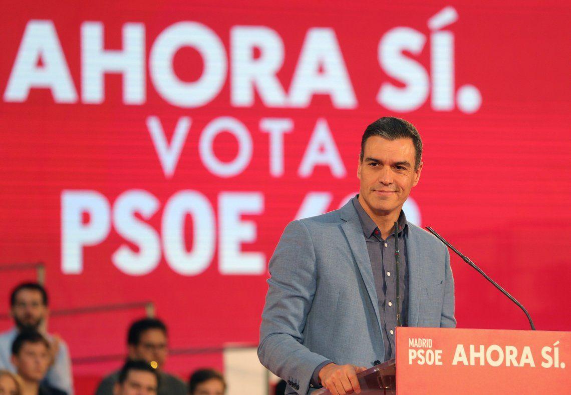 Si bien Pedro Sánchez volvería a ganar