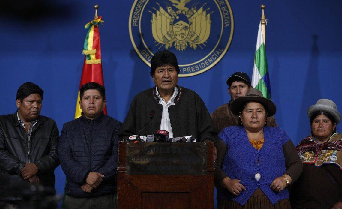 México le dará asilo político a Evo Morales