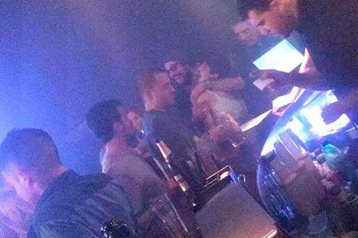 Gianinna Maradona y Daniel Osvaldo llamaron la atención en un cumpleaños