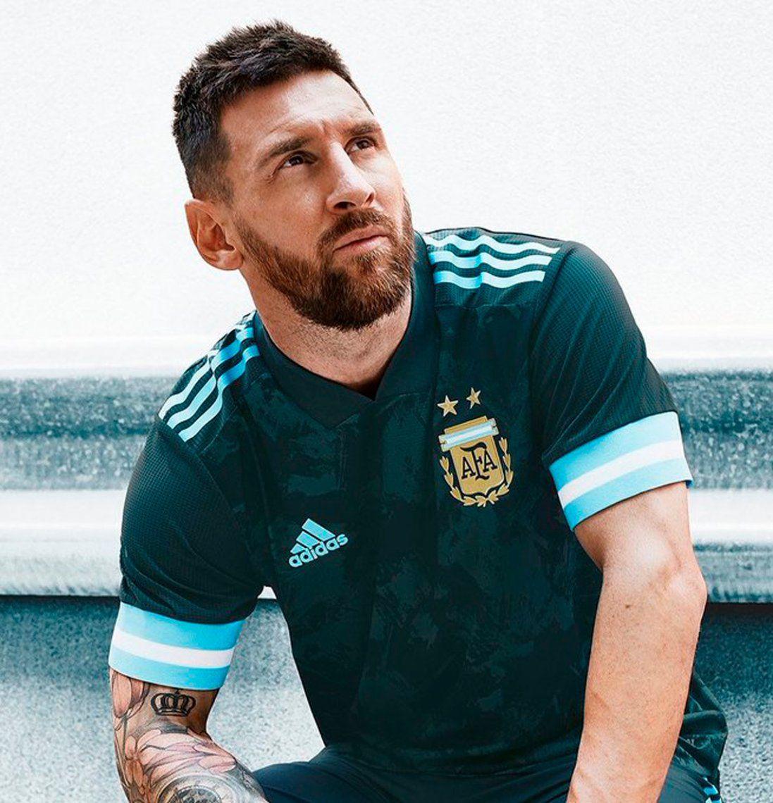 La nueva camiseta de la Selección Argentina
