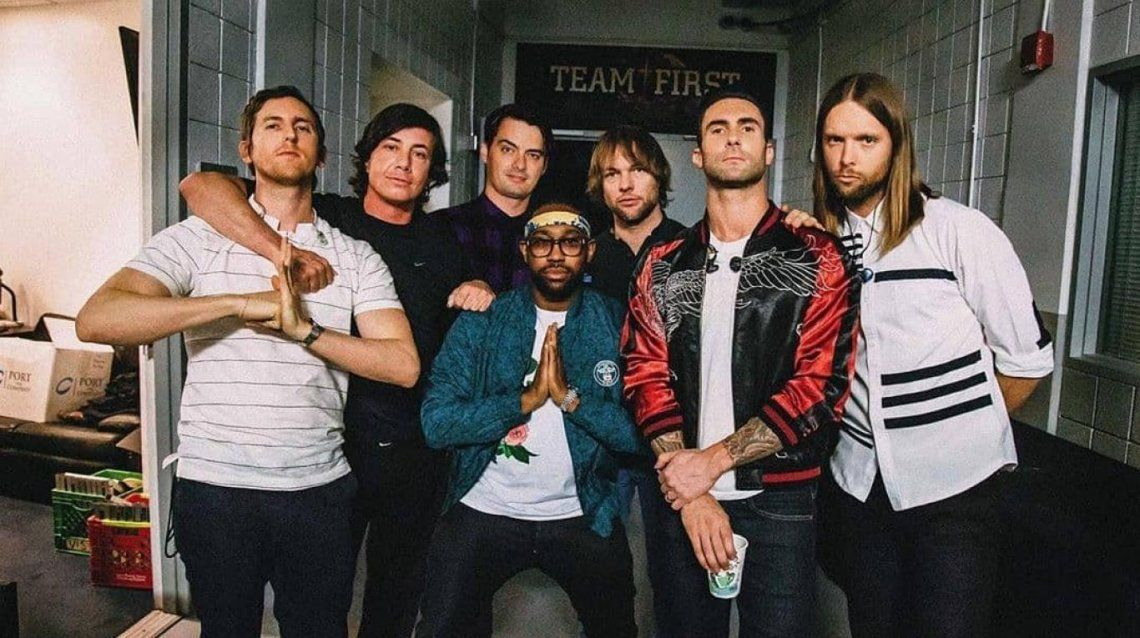 Maroon 5 reprogramó su show en Argentina: cuál es la nueva fecha