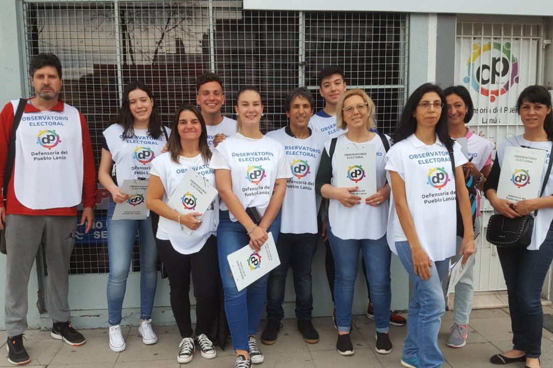 Lanús: balance provisorio del primer Observatorio Electoral en el Distrito - Popular