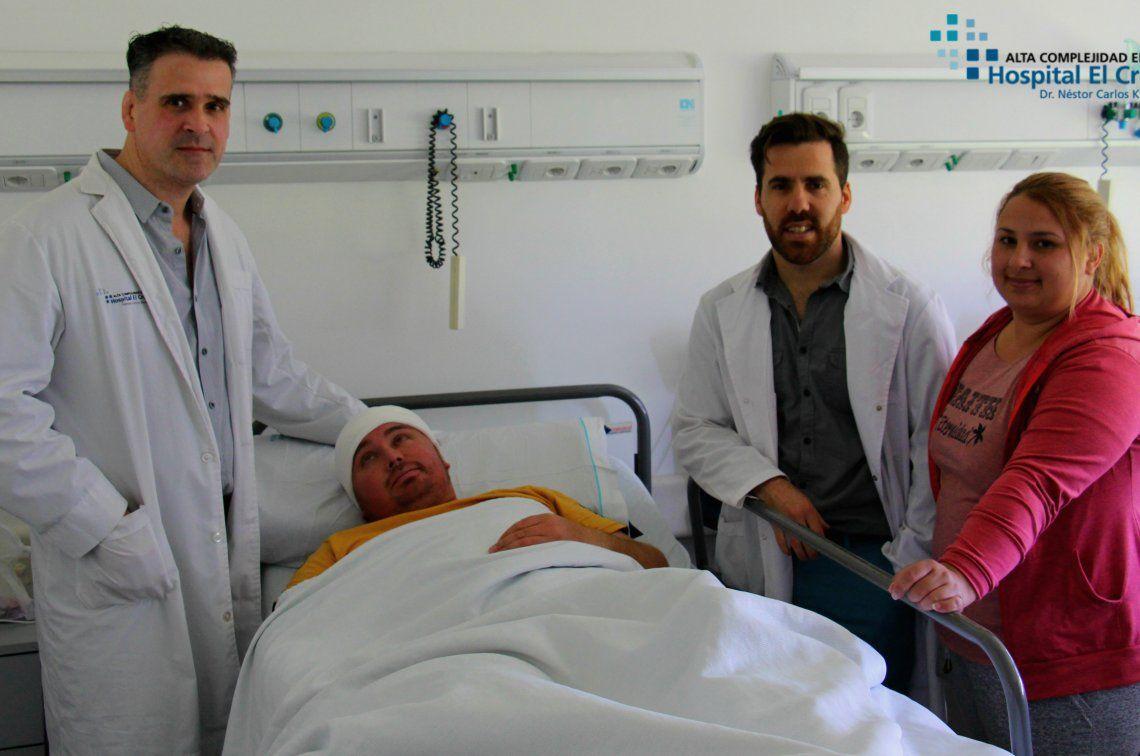 El paciente es un joven de 34 años oriundo de la ciudad de Tres Arroyos.