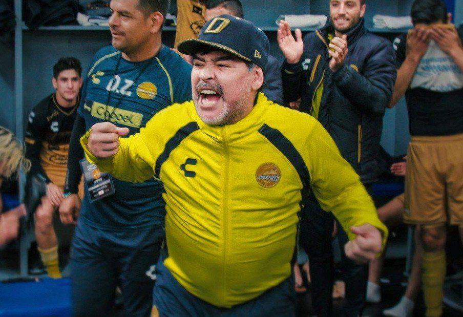 El paso de Maradona por los Dorados de Sinaloa
