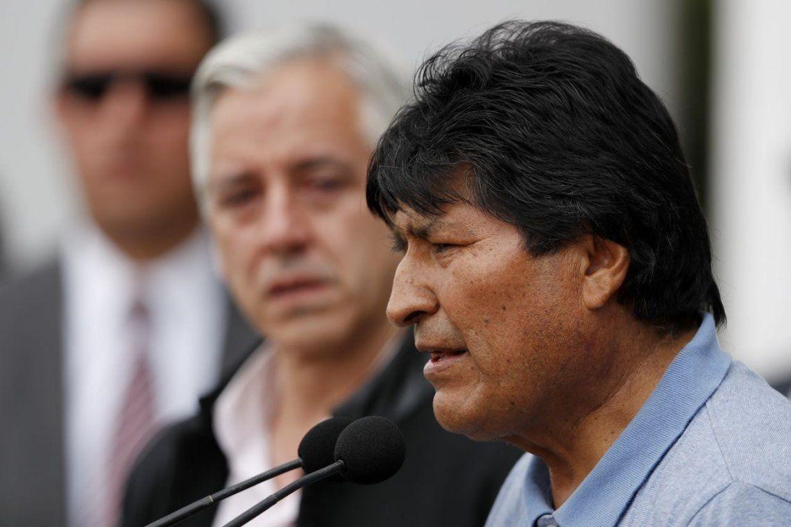 Evo Morales: Vamos a esperar para retornar a la Argentina o a Bolivia para seguir la lucha