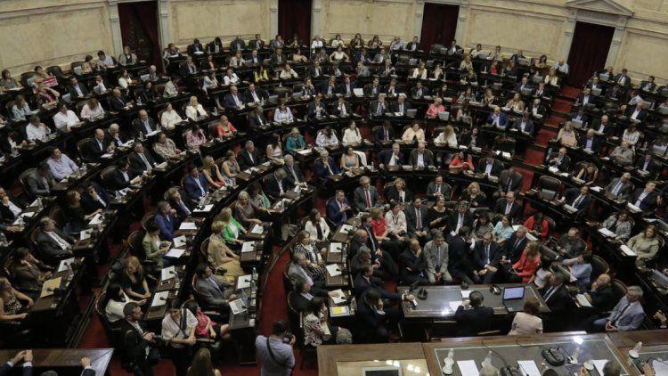 El Congreso proclamó formalmente la fórmula presidencial del Frente de Todos