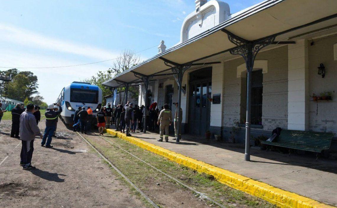 El 7 de octubre se realizó una prueba con un tren de pasajeros hasta 20 de Junio.
