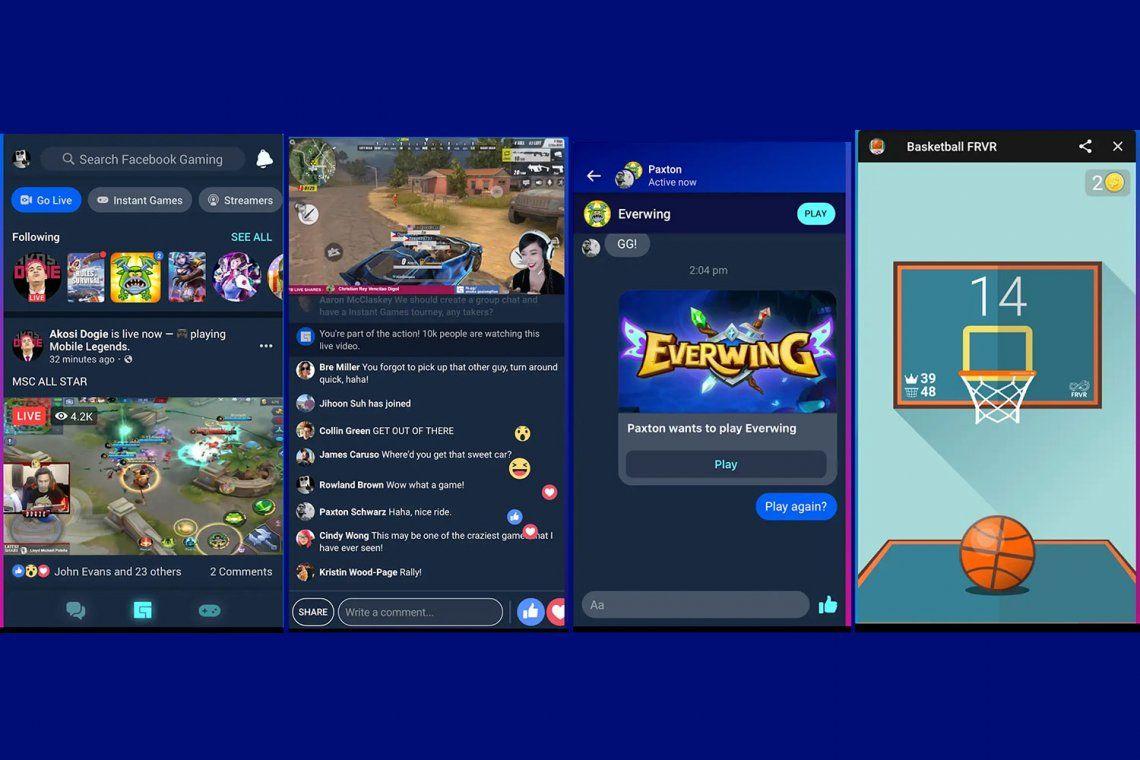 Facebook Gaming llegó a la Argentina: qué novedades trae la app de videojuegos que buscará competir con Microsoft y Amazon