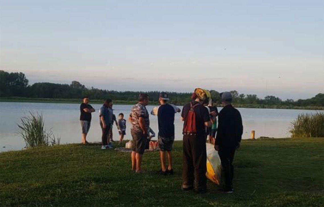 San Vicente: advertencias sobre las actividades en la laguna - Popular