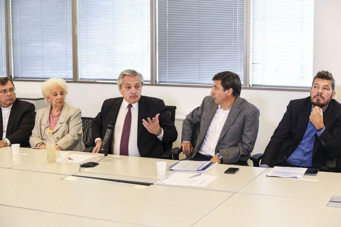 Alberto Fernández convocó a dirigentes a realizar la epopeya de terminar con el hambre