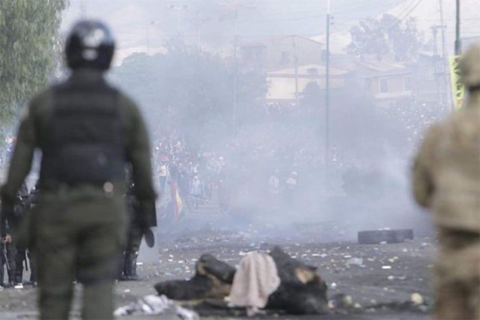 Bolivia: represión policial a cocaleros, muertos y varios heridos en Cochabamba