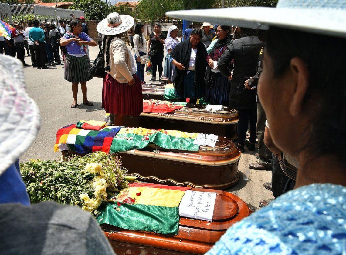 Bolivia: suman nueve los muertos y más de 100 heridos por la represión en Cochabamba
